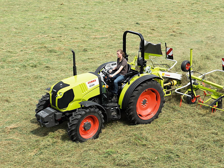Фото Сельскохозяйственная техника трактора 2014-20 Claas Elios 220 Platform Трактор тракторы