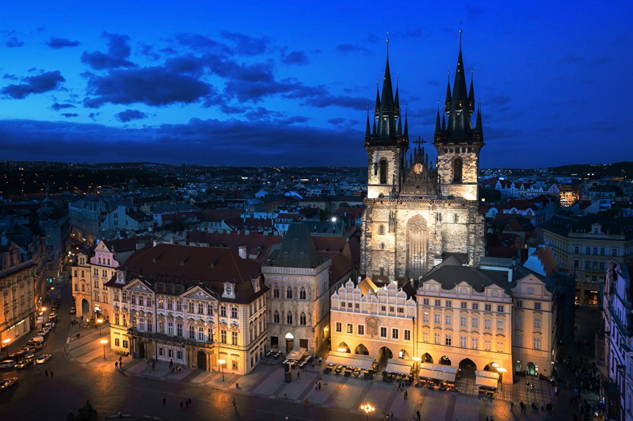 Прага обои рабочего стола 8