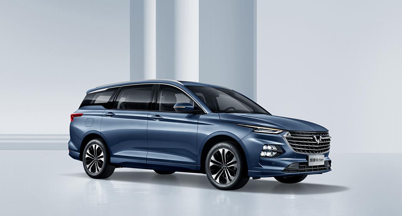 Обои для рабочего стола Китайские Универсал Wuling Victory, 2020 Сбоку Металлик Автомобили китайский китайская авто машины машина автомобиль