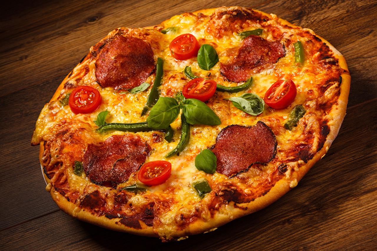 Картинка Пицца Быстрое питание Еда вблизи Фастфуд Пища Продукты питания Крупным планом