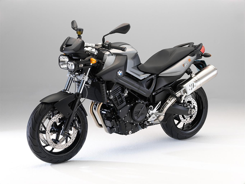 Фотографии БМВ F 800 R, 2009–11 серые Мотоциклы BMW - Мотоциклы серая Серый мотоцикл