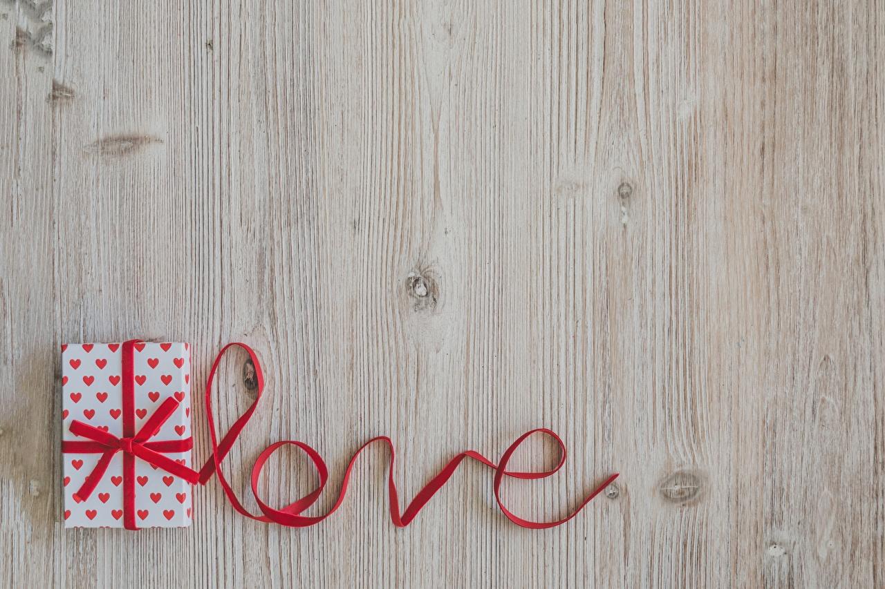 Фото Английский Любовь Подарки Слово - Надпись ленточка Шаблон поздравительной открытки английская инглийские слова текст подарок подарков Лента