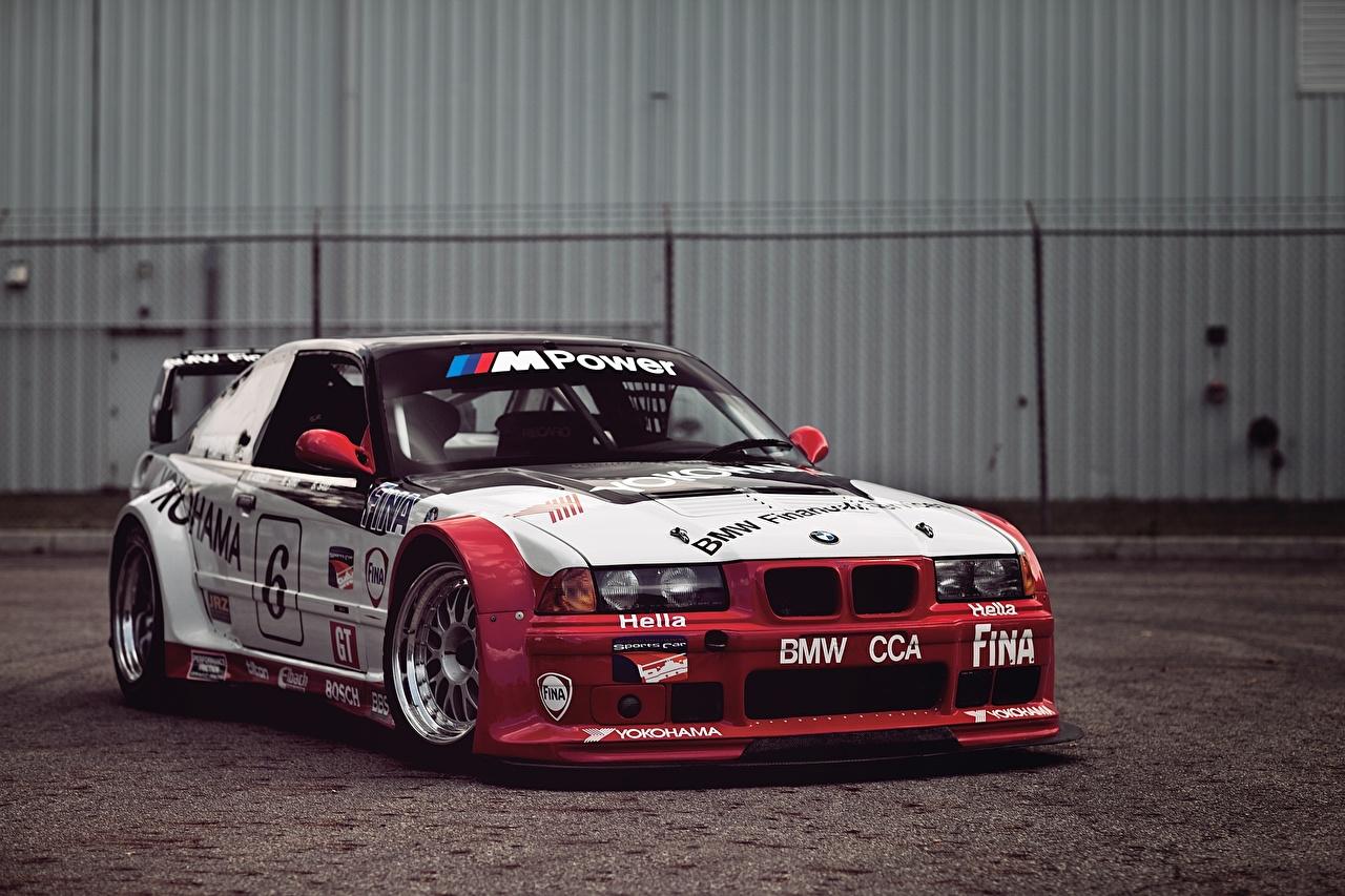 Фото БМВ M3 E36 машина BMW авто машины Автомобили автомобиль