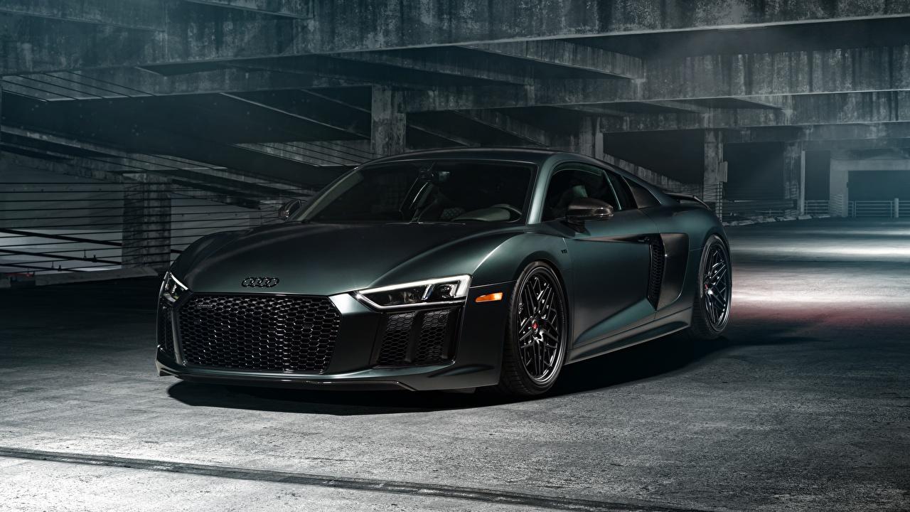 Картинки Audi R8 V10 Купе Автомобили Ауди авто машина машины автомобиль