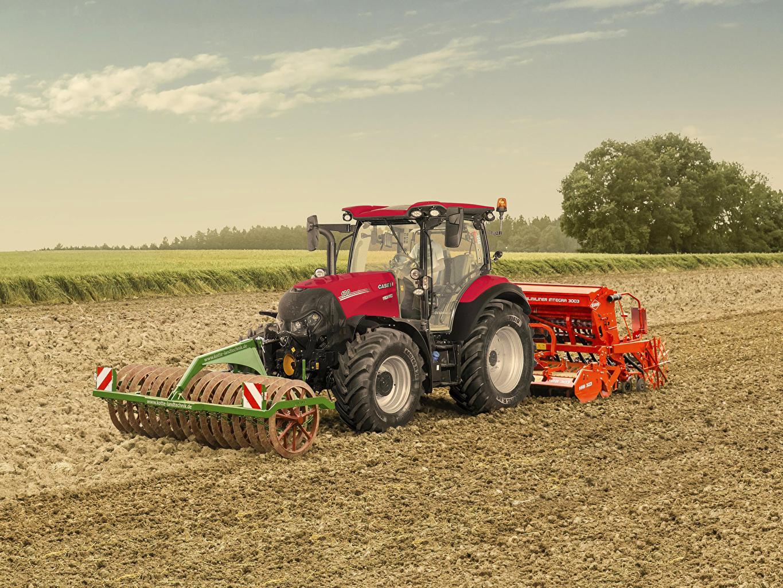 Картинка трактора 2019 Case IH Versum 130 CVXDrive Поля Трактор тракторы