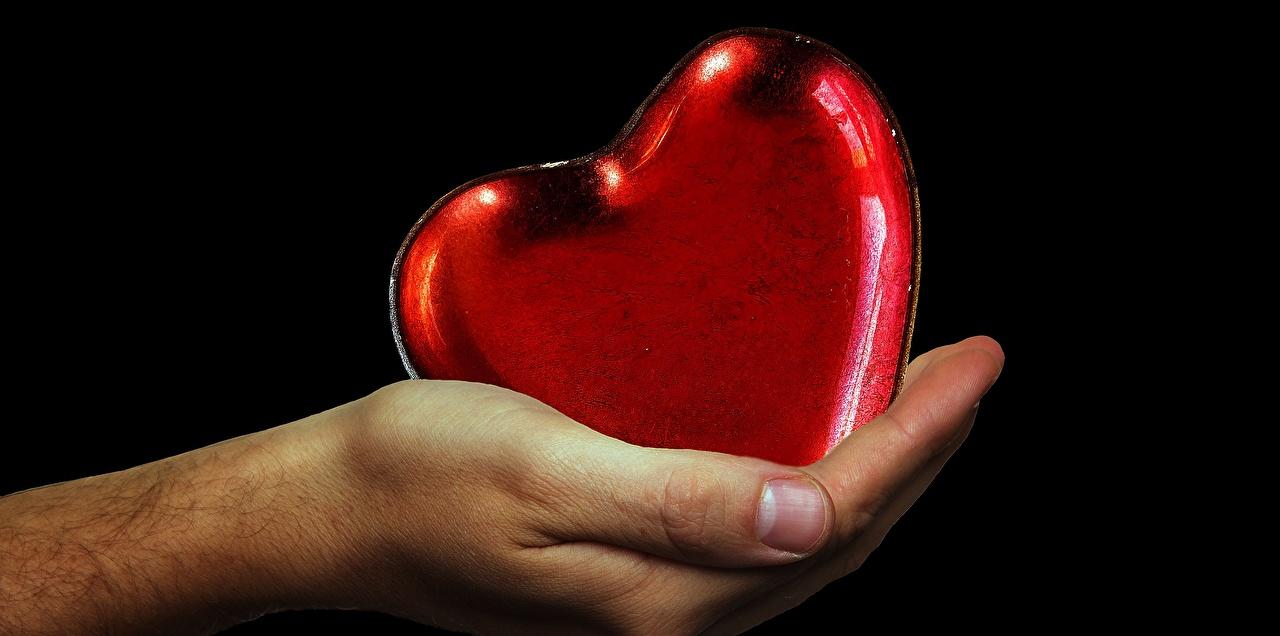 Фотографии сердца рука вблизи Черный фон серце Сердце сердечко Руки на черном фоне Крупным планом