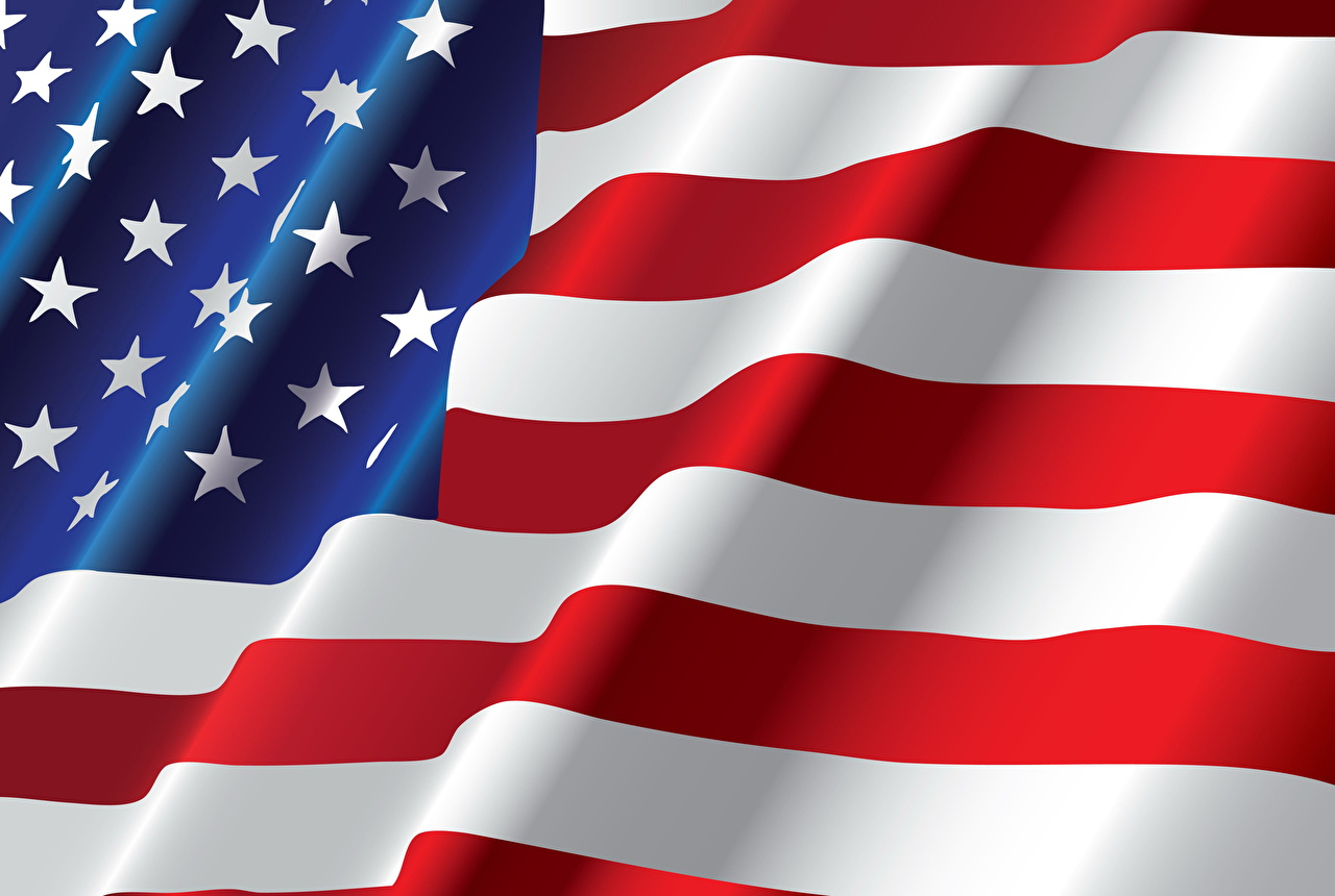 Фотография США Звездочки Флаг Полоски