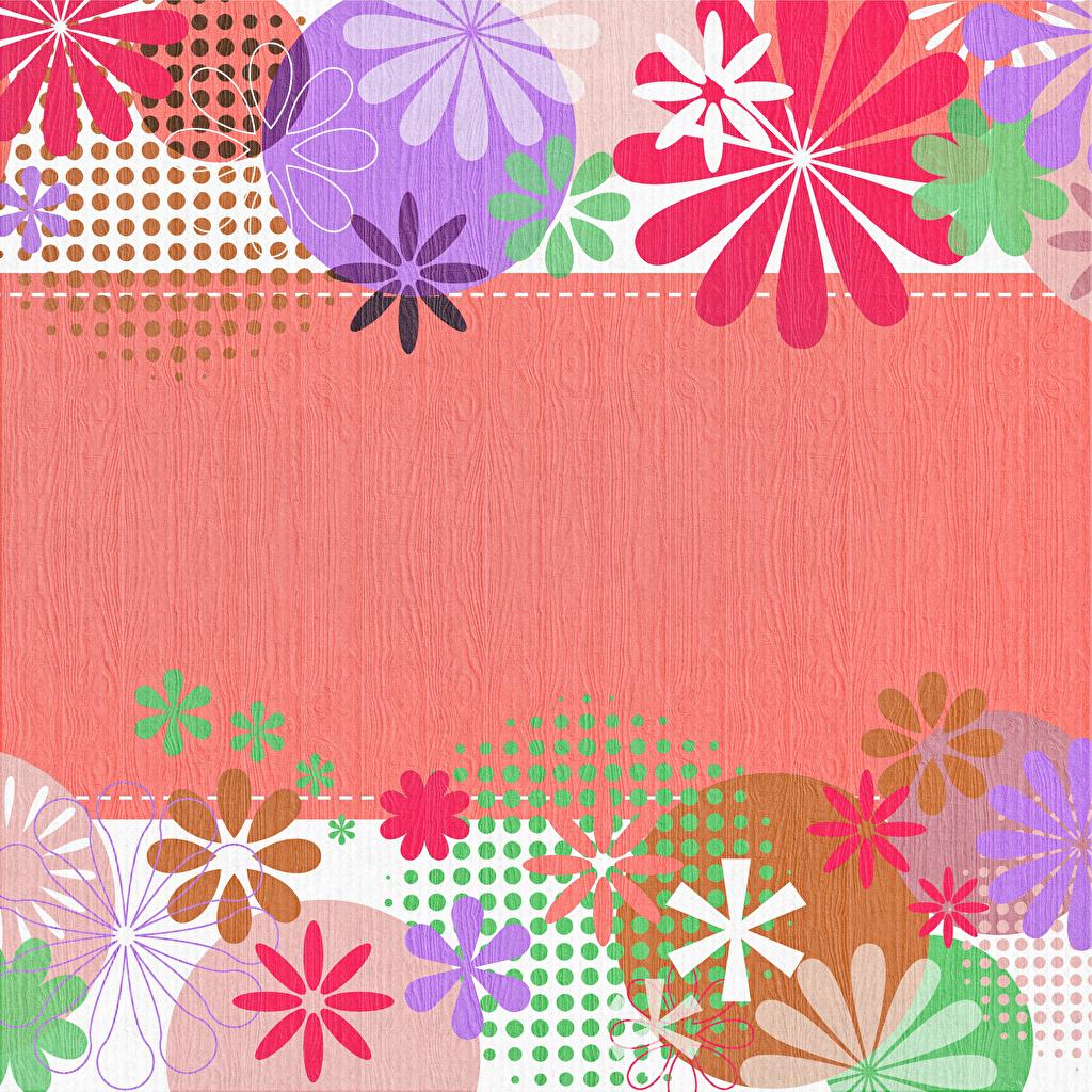 Картинки круг Разноцветные Лепестки Шаблон поздравительной открытки Круги окружность лепестков