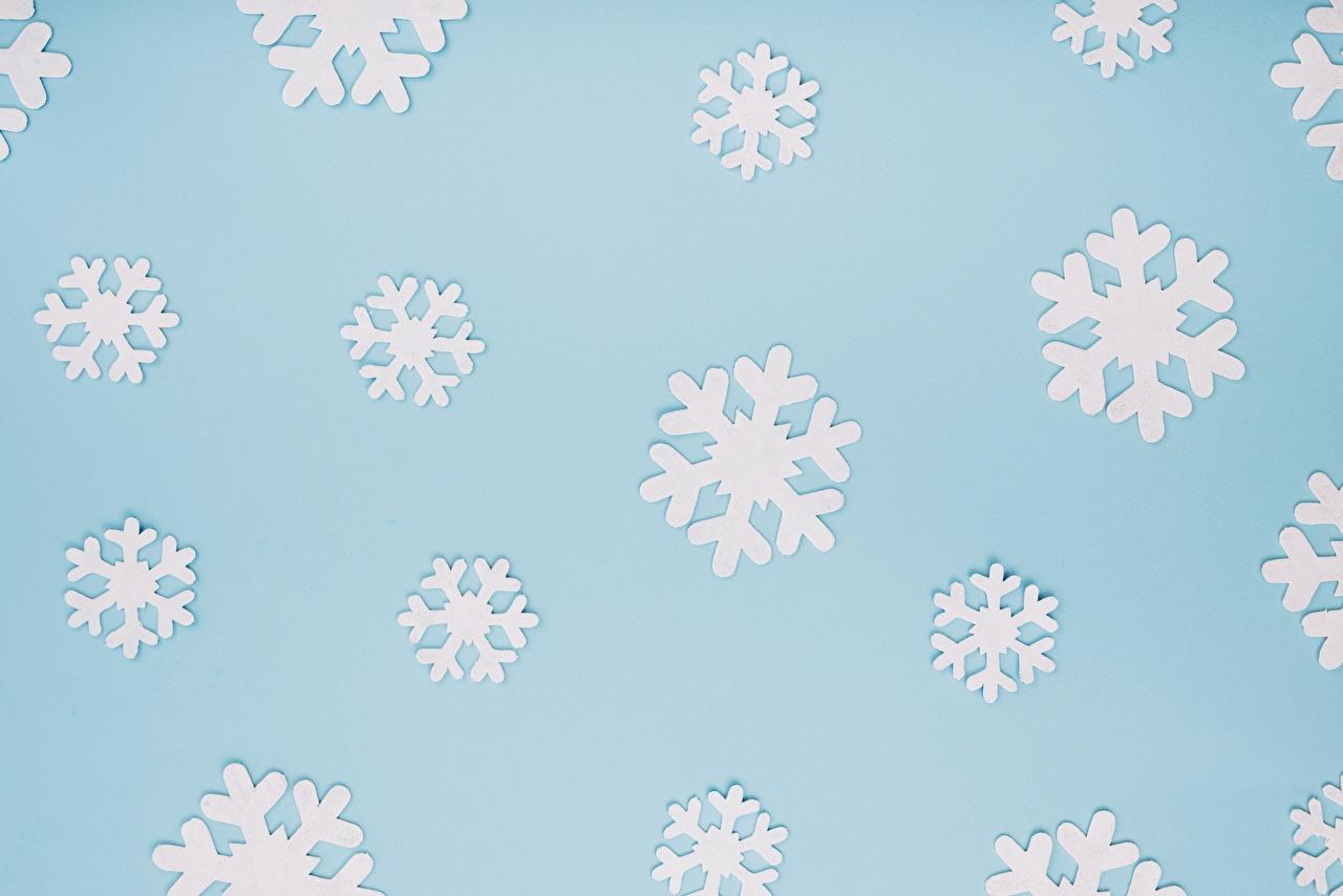 Фото Текстура Рождество Снежинки Новый год снежинка