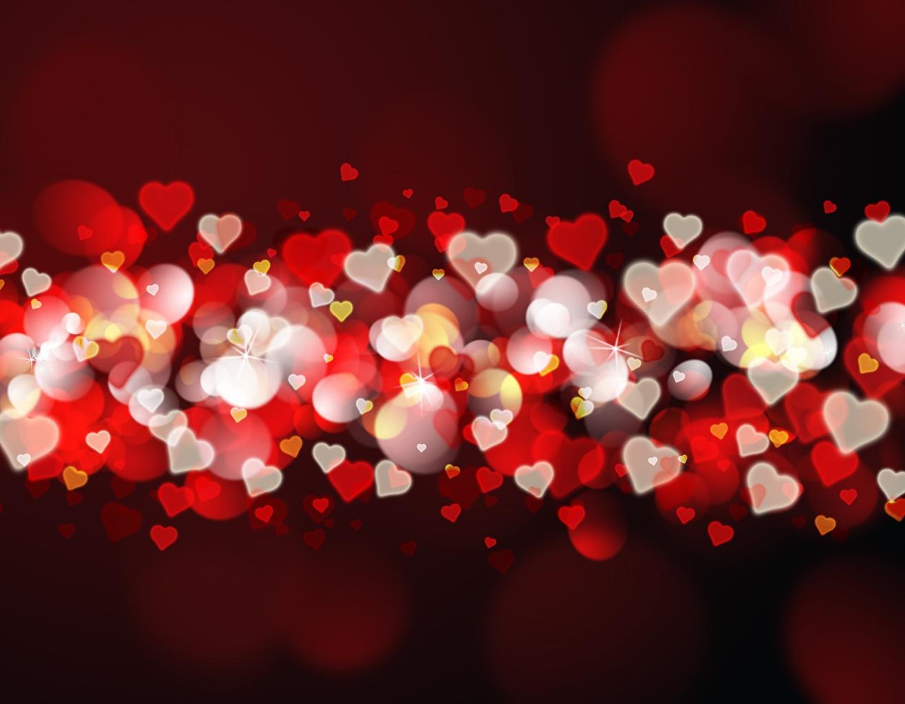 Картинки День святого Валентина сердечко Много День всех влюблённых Сердце