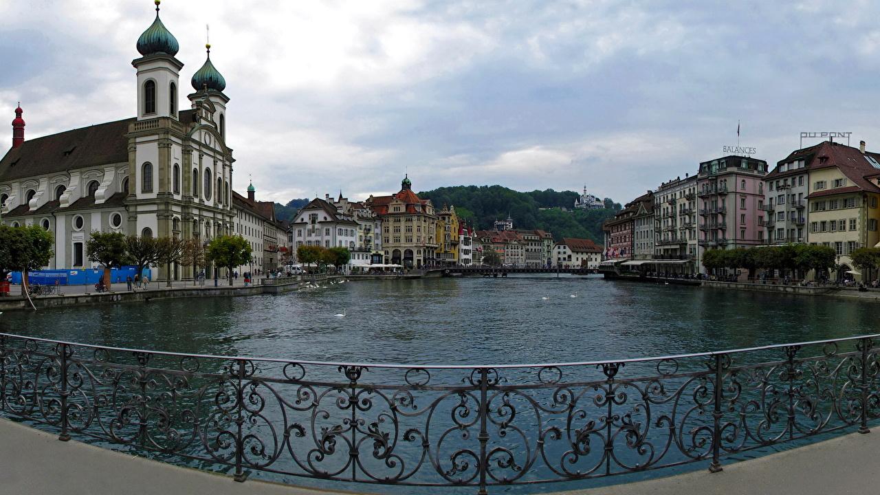 Обои люцерн, швейцария. Города foto 16