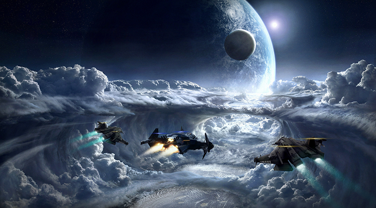 想像を絶する美しい宇宙船画像