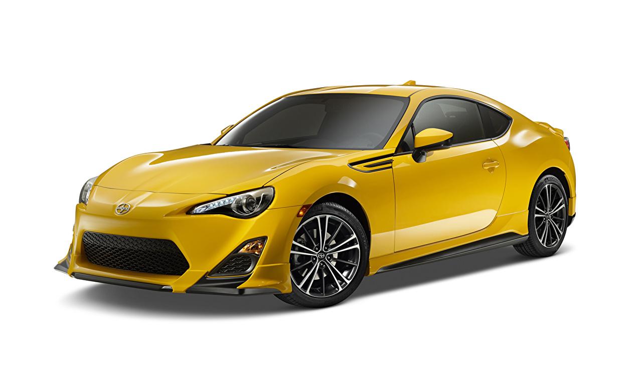 Фотография Scion 2014 FR-S Release Series 1.0 желтых машины Металлик Скион Желтый желтые желтая авто машина автомобиль Автомобили