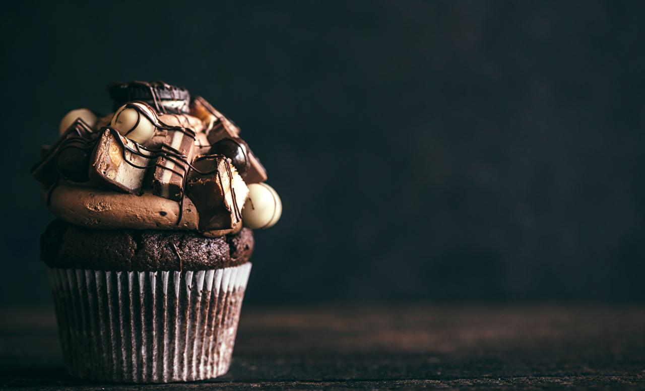 Картинки Шоколад Капкейк кекс Продукты питания Пирожное Сладости Еда Пища сладкая еда