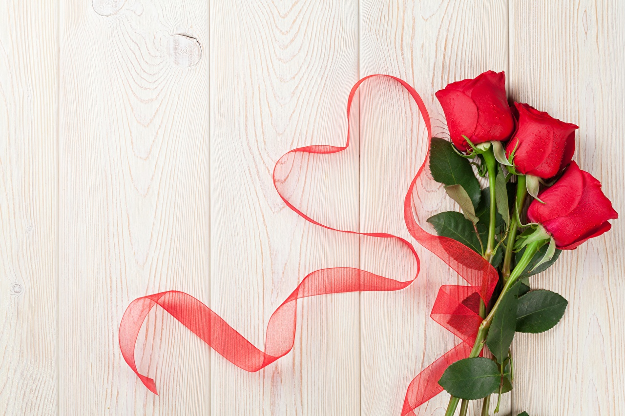 Картинка День всех влюблённых Сердце Розы Цветы Шаблон поздравительной открытки Доски День святого Валентина серце сердца сердечко роза цветок