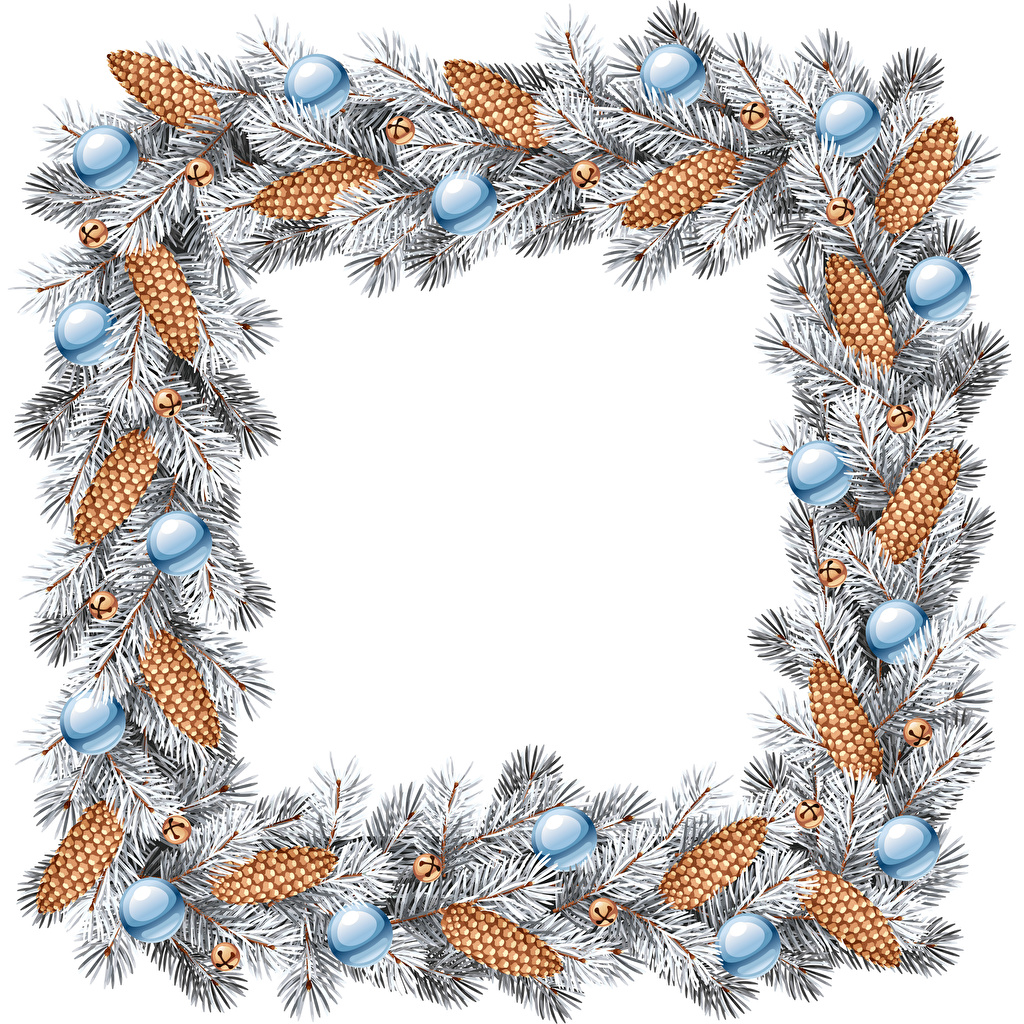 Обои для рабочего стола Новый год ветвь шишка Шарики Шаблон поздравительной открытки Рождество Шар Ветки ветка Шишки на ветке