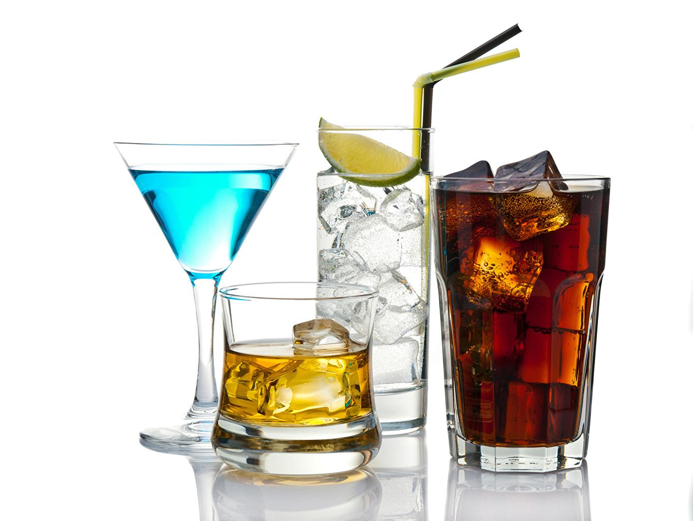 Фото льда Стакан бокал Коктейль Продукты питания Напитки Лед стакана стакане Еда Пища Бокалы