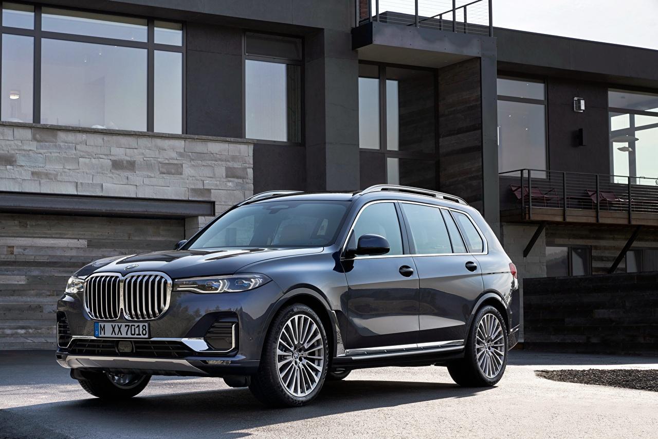 Картинка БМВ Универсал 2018 X7 Авто BMW Машины Автомобили