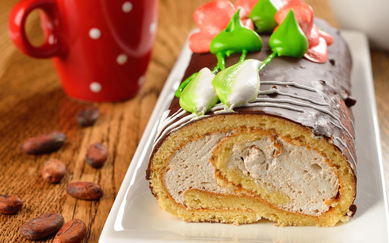 Обои для рабочего стола Шоколад Торты Пища сладкая еда Еда Продукты питания Сладости