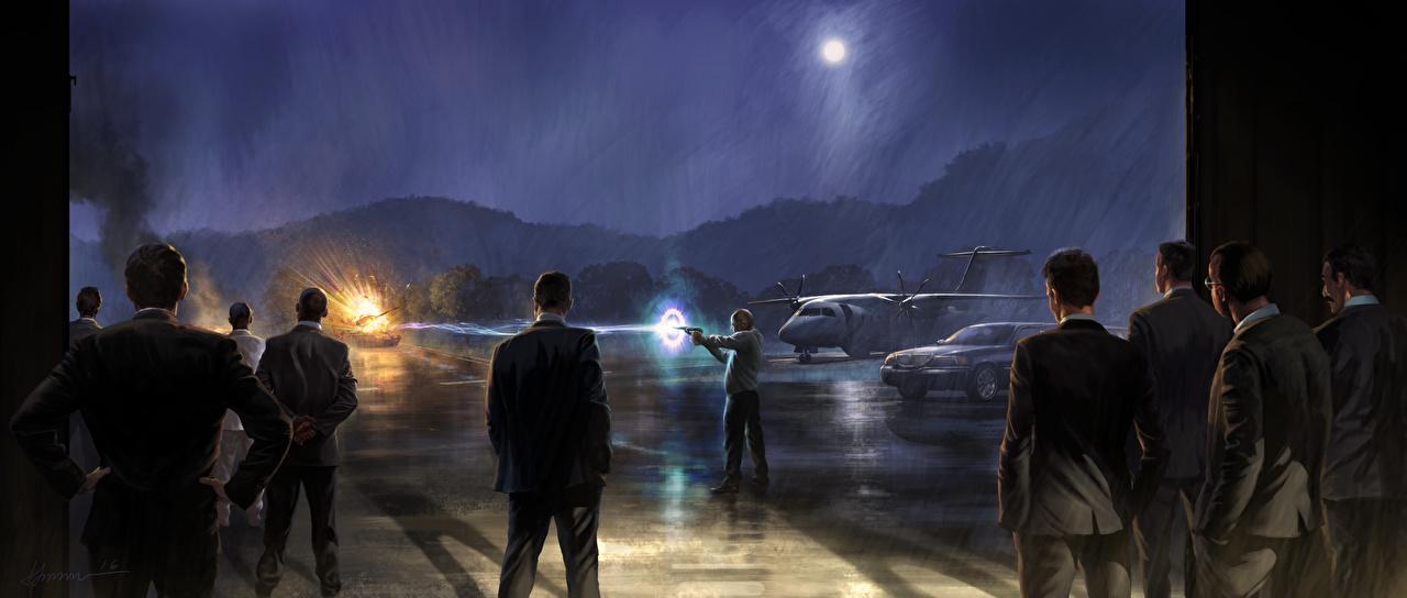 Фотография Человек-паук: Возвращение домой стреляет мужчина кино Ночь Выстрел стрельба выстрелил Мужчины Фильмы ночью в ночи Ночные