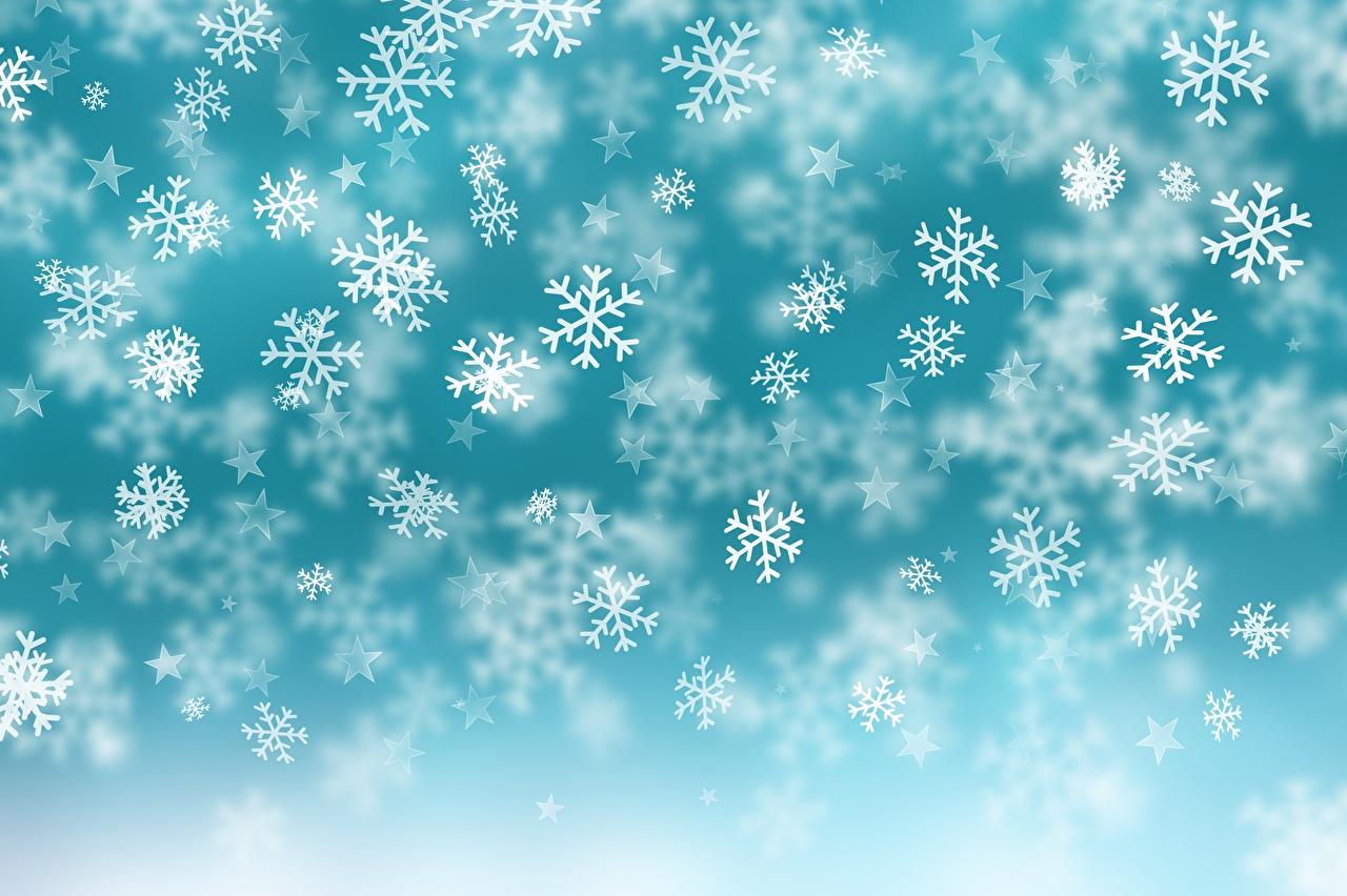 Фото Текстура Рождество Снежинки Новый год