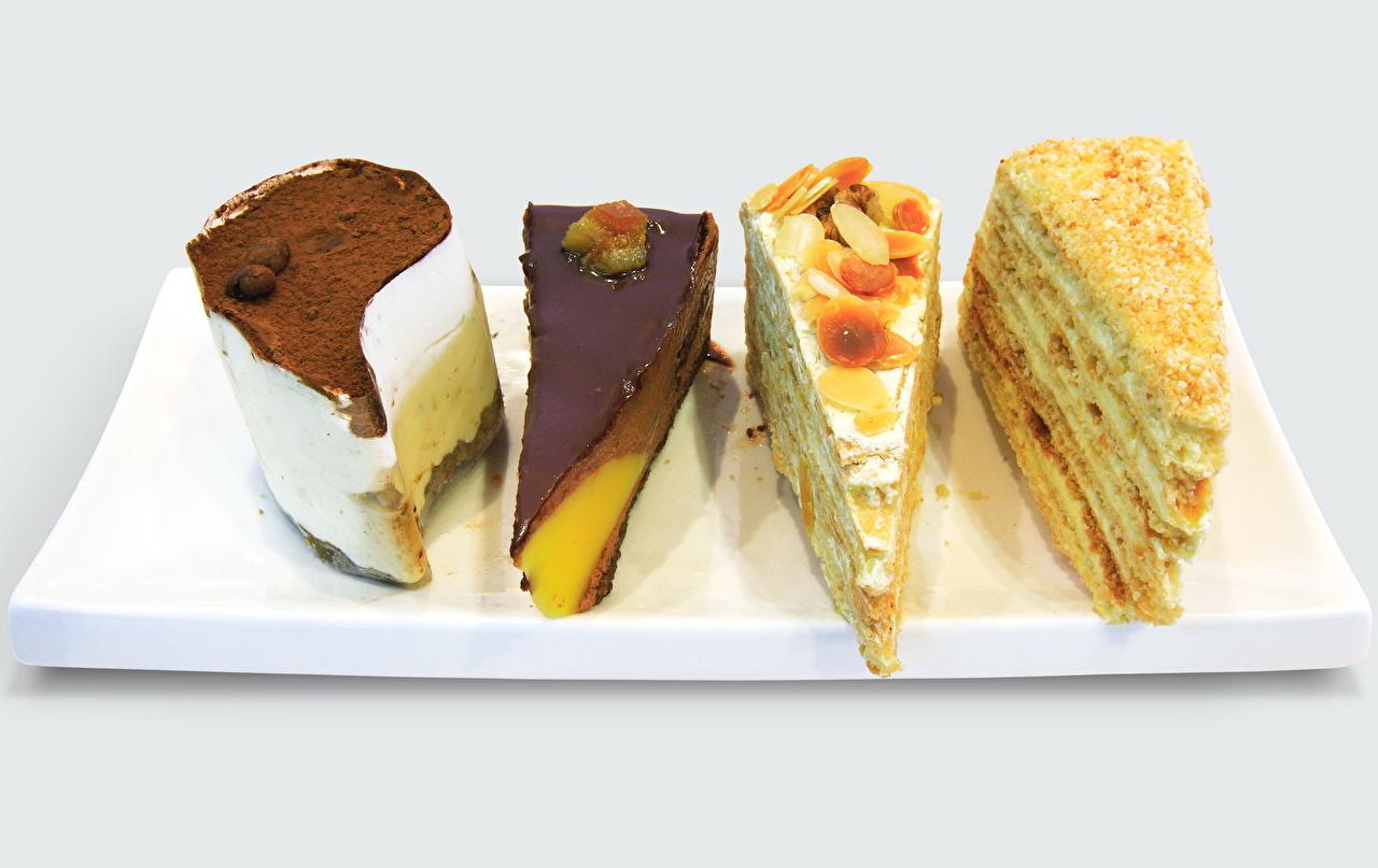 Фотография Шоколад Торты Еда сладкая еда Цветной фон Пища Продукты питания Сладости