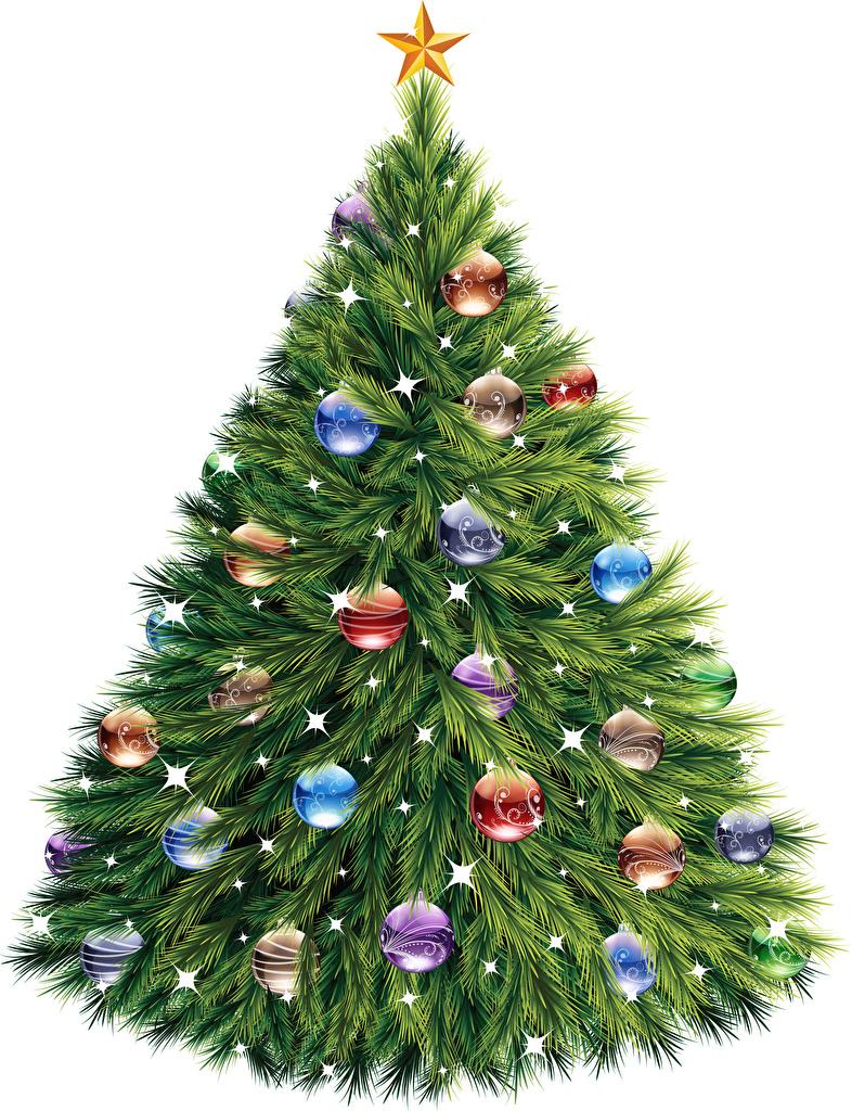 Фото Рождество Елка Шар  для мобильного телефона Новый год Новогодняя ёлка Шарики