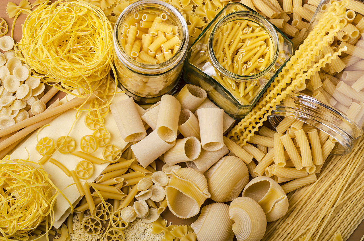 Фото Макароны Банка Еда Пища Продукты питания
