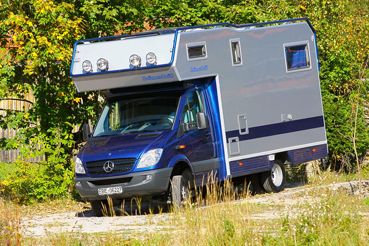 Обои Mercedes-Benz 2011-16 Sprinter Bimobil LBX 365 Автомобили Мерседес бенц авто машина машины автомобиль