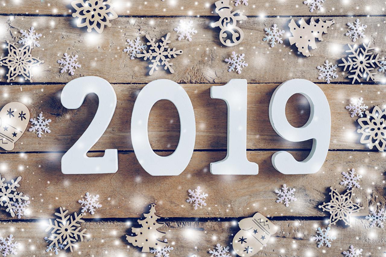 Картинки 2019 Новый год снежинка Новогодняя ёлка Снег Доски Рождество Елка Снежинки снеге снегу снега