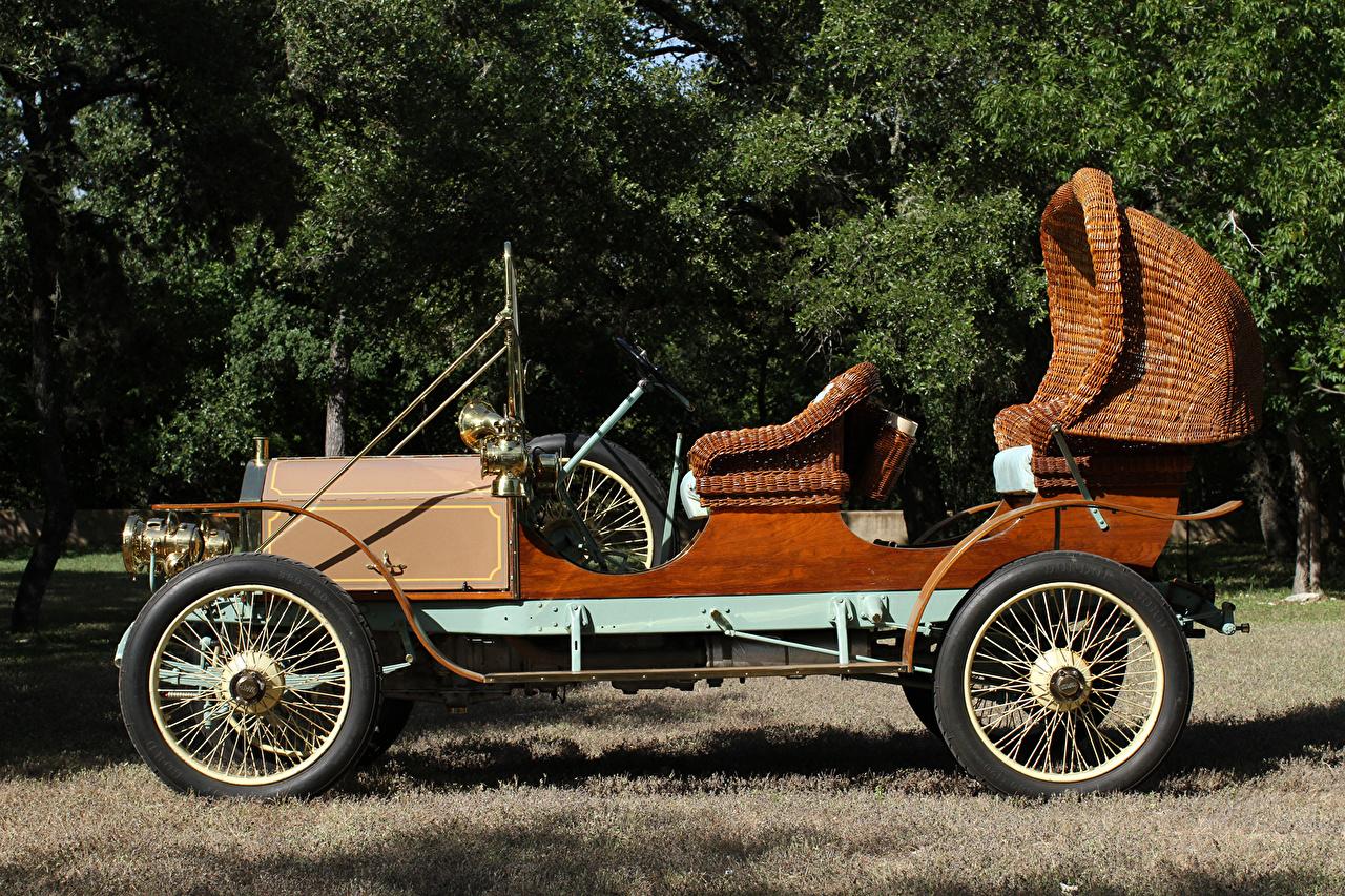 Фото 1911 Napier Garden Car старинные Сбоку Машины Ретро Винтаж Авто Автомобили