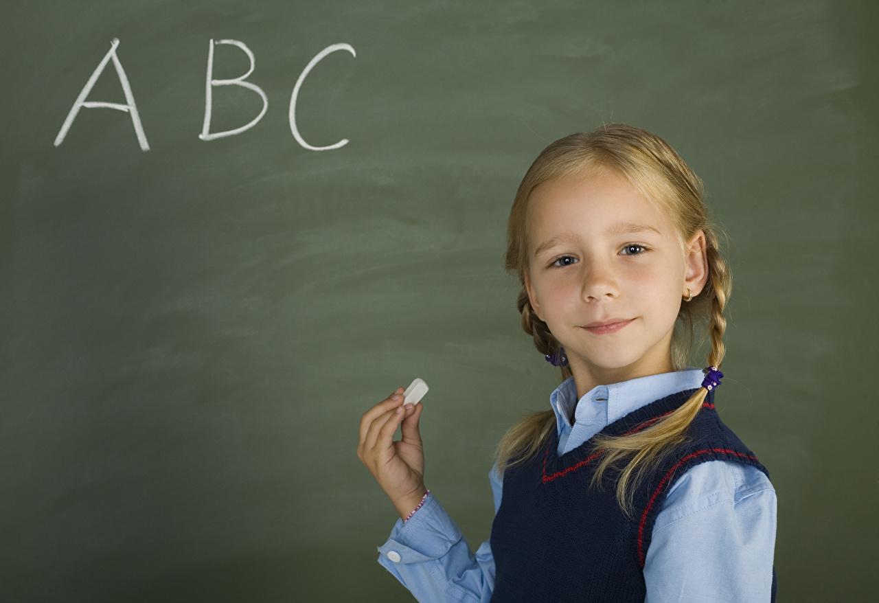 Фотография Девочки школьные ребёнок рука девочка Школа Дети Руки