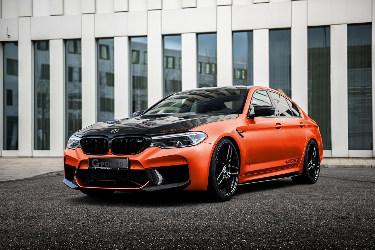 Фотографии BMW Тюнинг M5, G-Power, F90, G5M Hurricane RS машины Металлик БМВ Стайлинг авто машина автомобиль Автомобили