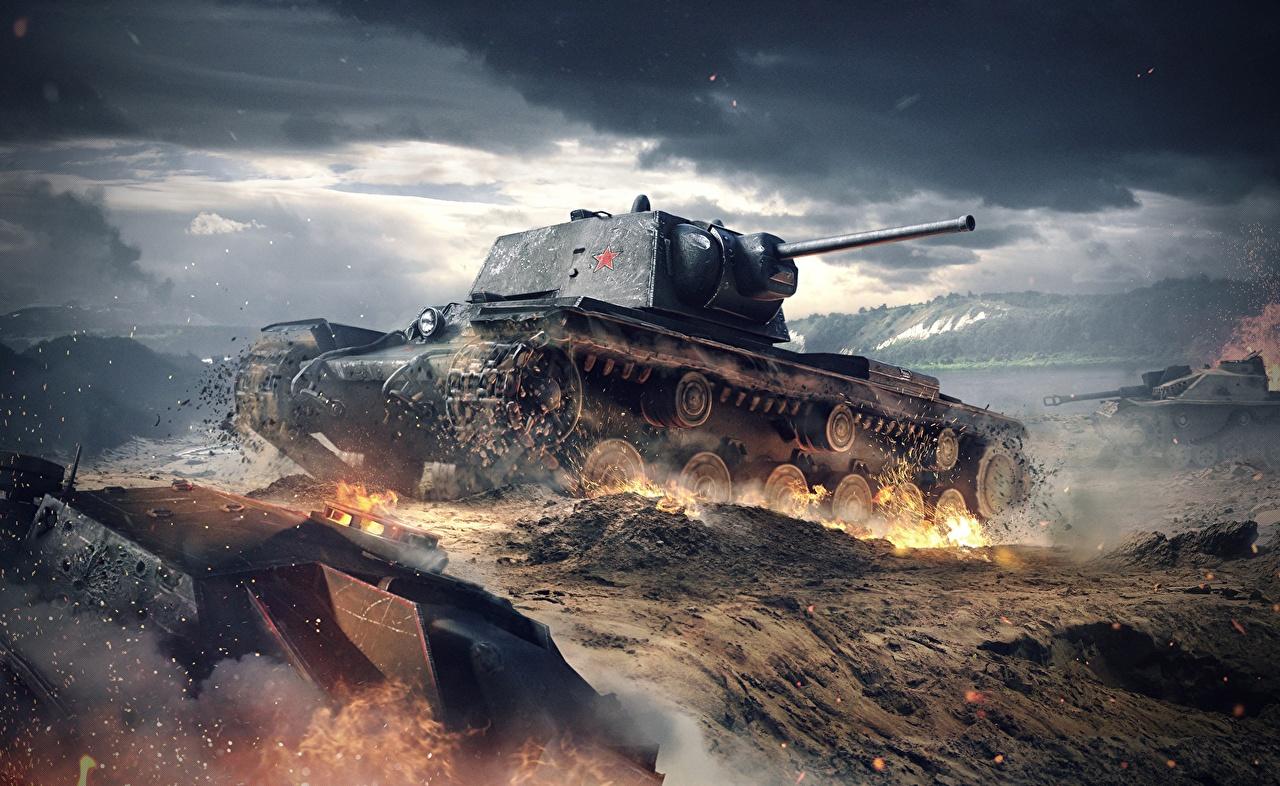 とてもかっこいい戦車の壁紙