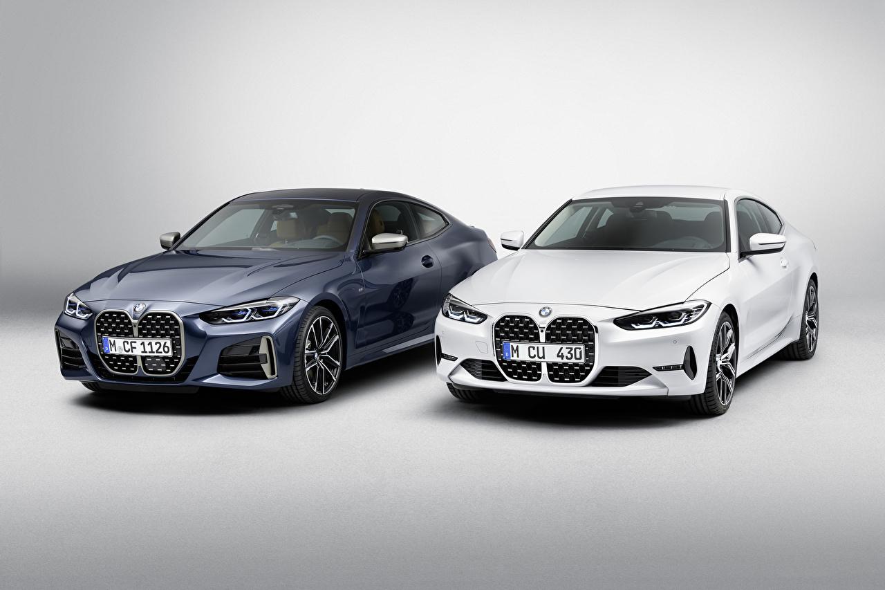 Фотографии BMW 2020 4 Series вдвоем Автомобили БМВ 2 два две Двое авто машины машина автомобиль