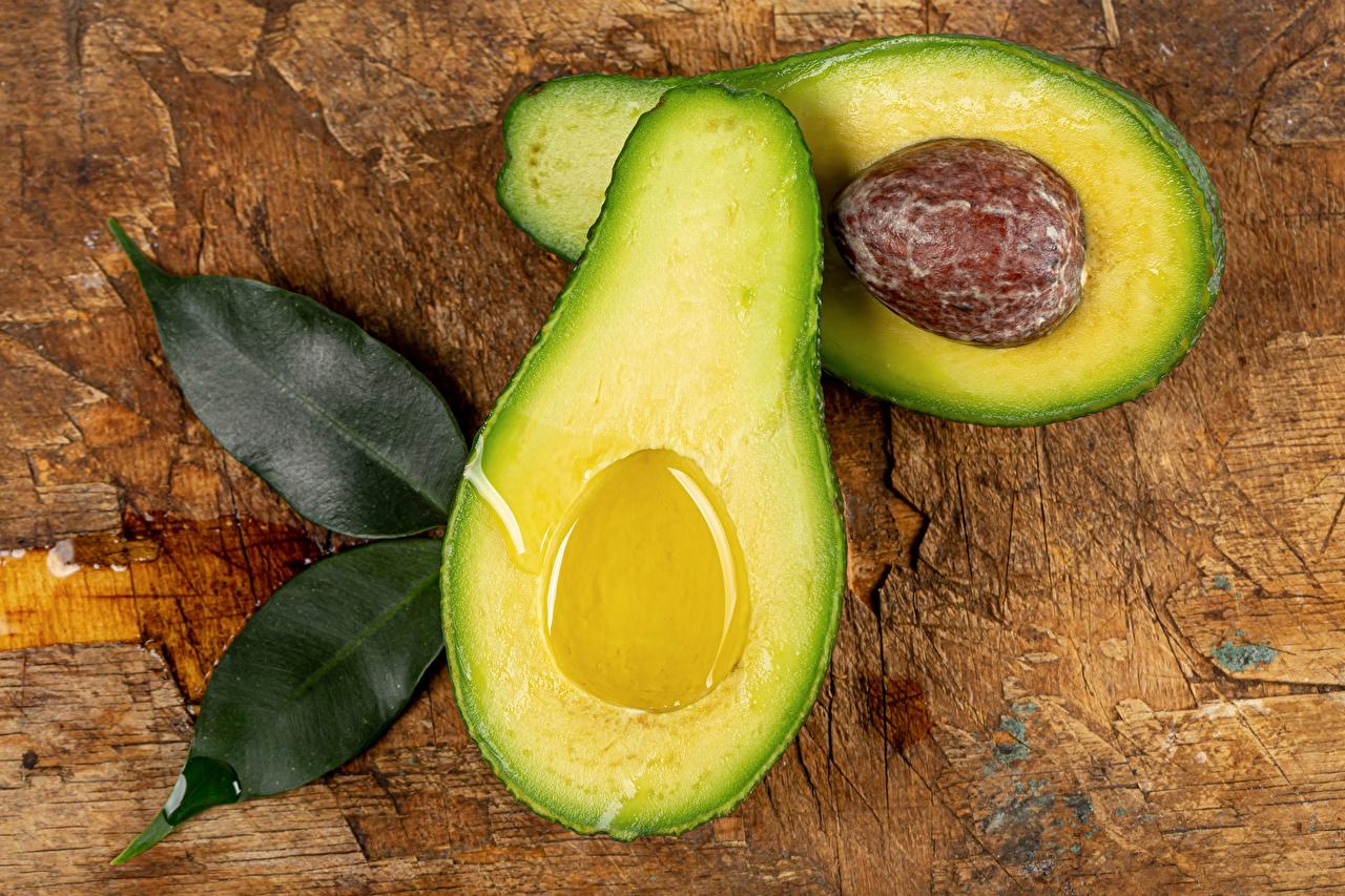 Картинка лист Авокадо Еда вблизи Листва Листья Пища Продукты питания Крупным планом