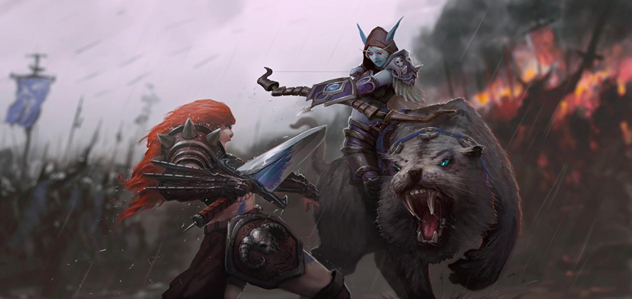 Картинки воины эльфы