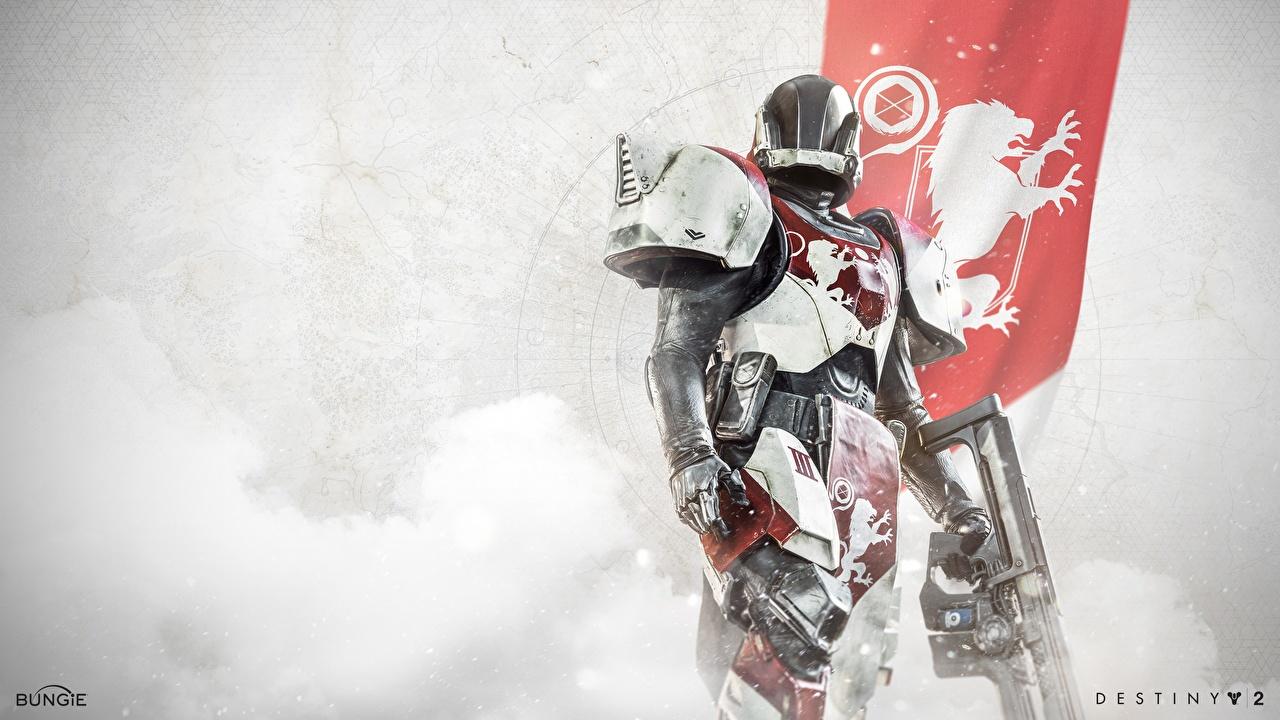 Картинки Destiny 2 Доспехи Шлем Воители Игры броня броне доспехе доспехах воин воины шлема в шлеме компьютерная игра
