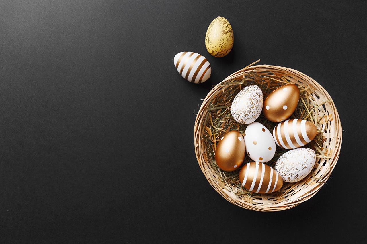 Картинки Пасха Яйца корзины яиц яйцо яйцами Корзина Корзинка