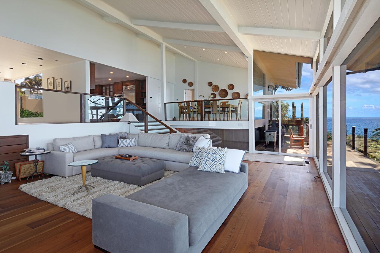 Фото гостевая Интерьер Диван Дизайн Гостиная диване дизайна