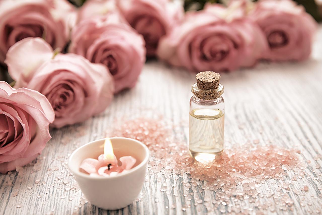 Картинки Спа Розы розовая Соль Цветы Свечи физиотерапия роза Розовый розовые розовых соли солью цветок