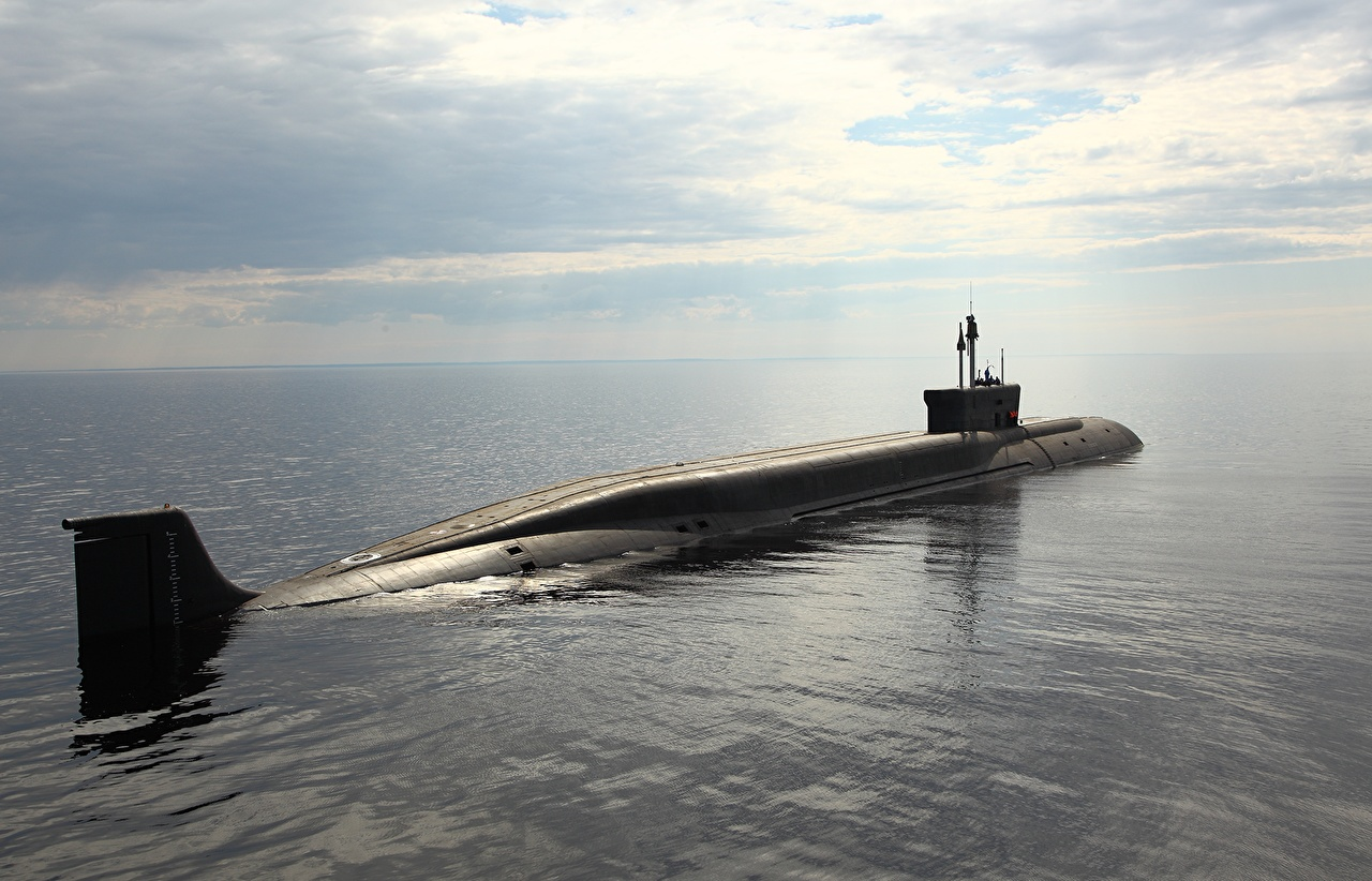 Фото Подводные лодки 955 Море военные Армия