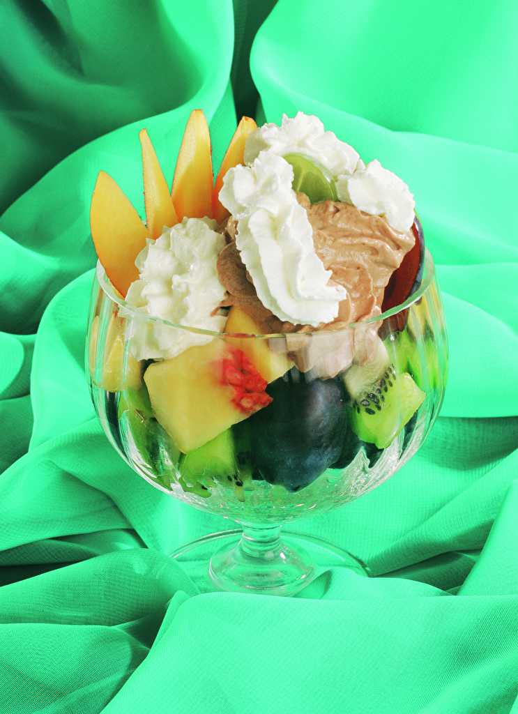 Фото Мороженое Пища Фрукты Сладости  для мобильного телефона Еда Продукты питания сладкая еда