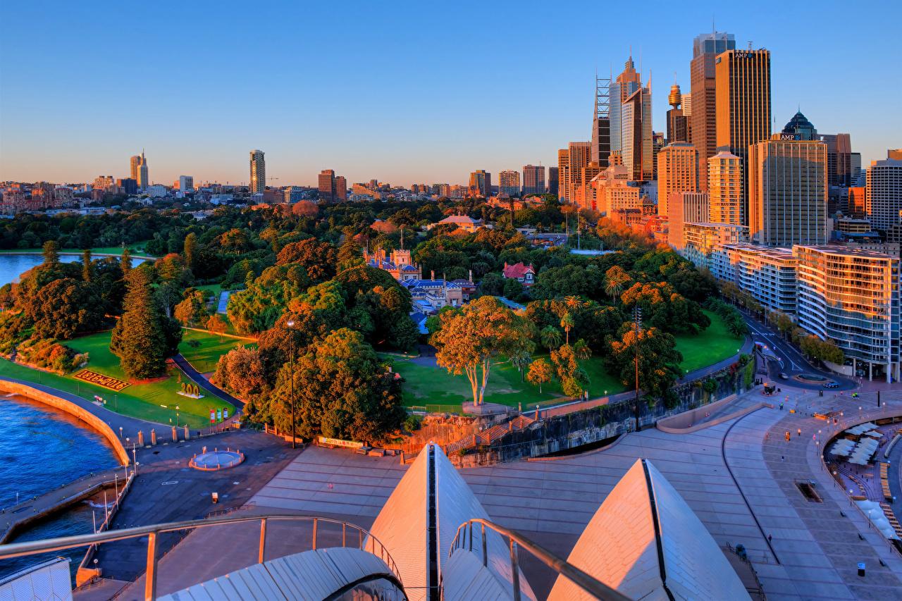 Обои австралия. Города foto 11