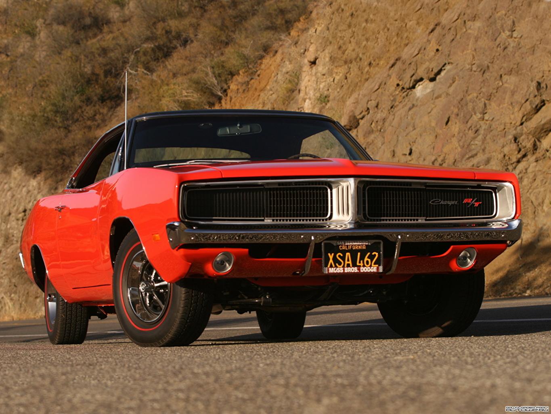 Фото Dodge Charger R T 1969 авто Додж машина машины автомобиль Автомобили