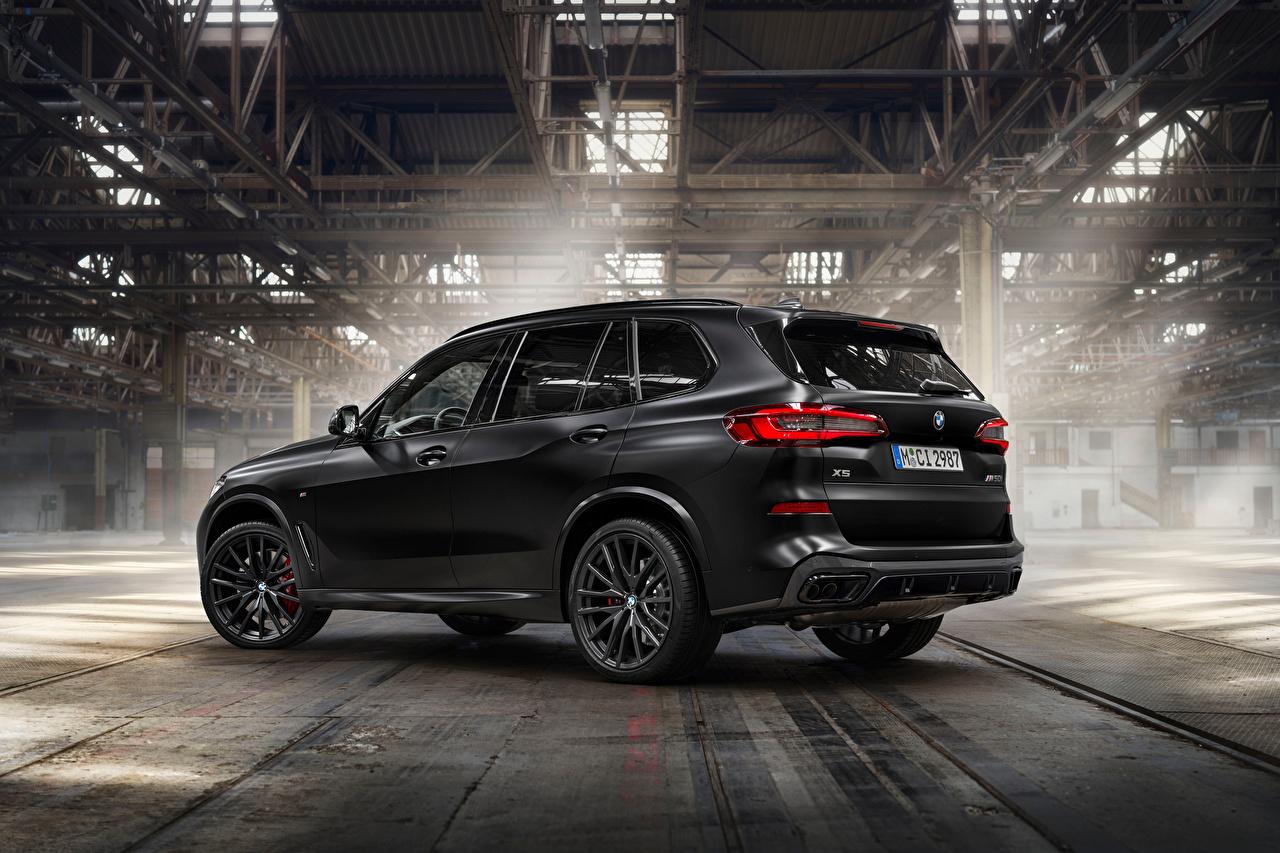 Картинки БМВ Кроссовер X5 M50i Edition Black Vermilion, (Worldwide), (G05), 2021 черная машина BMW CUV Черный черные черных авто машины Автомобили автомобиль