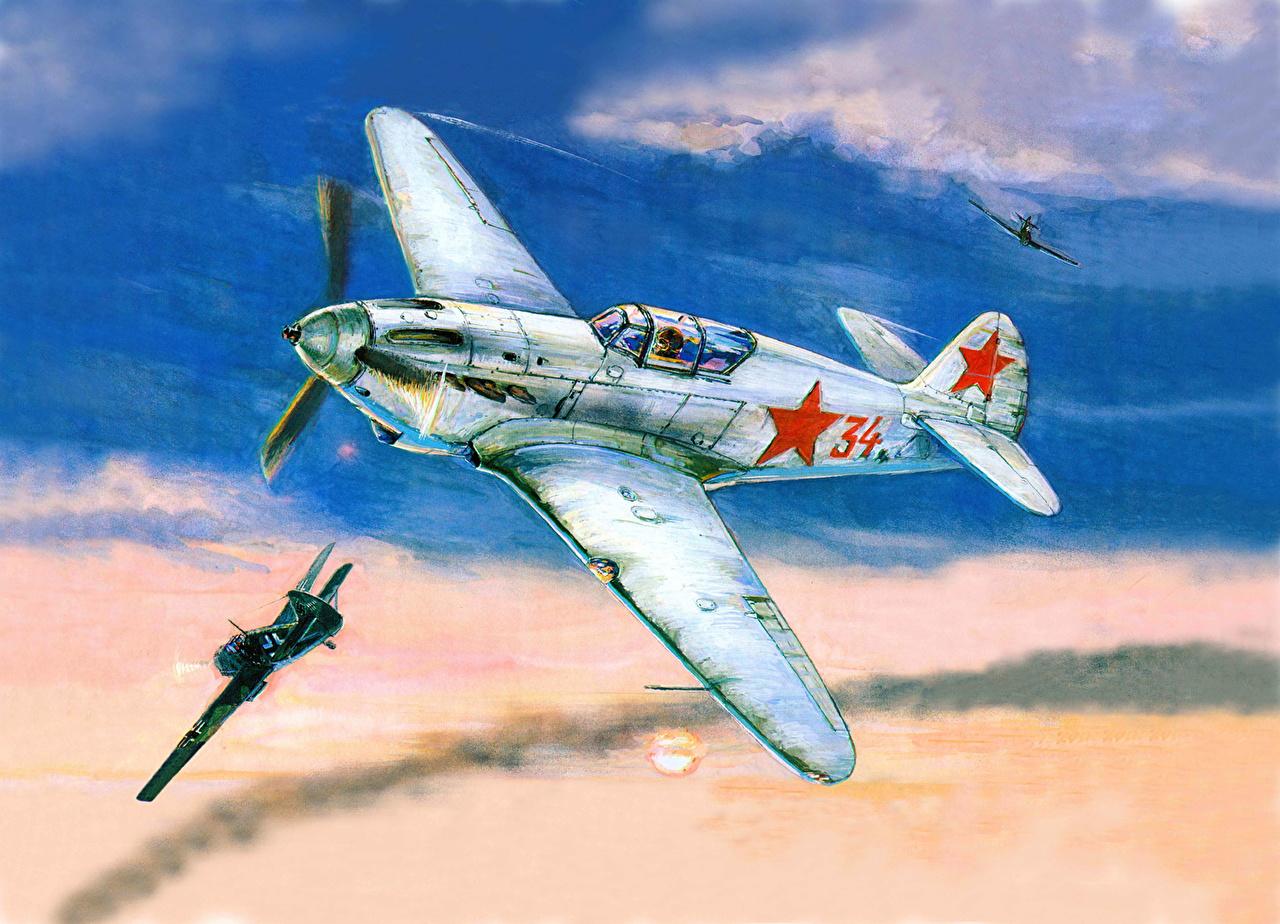 Обои Самолёт, рисованый. Авиация foto 15