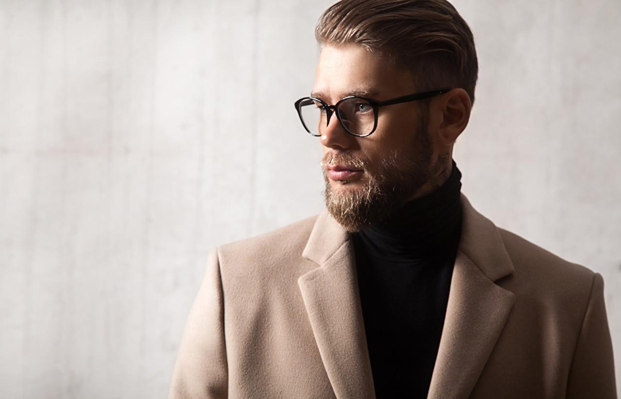 Картинки Мужчины прически бородой очков мужчина Причёска Борода бородатый бородатые Очки очках