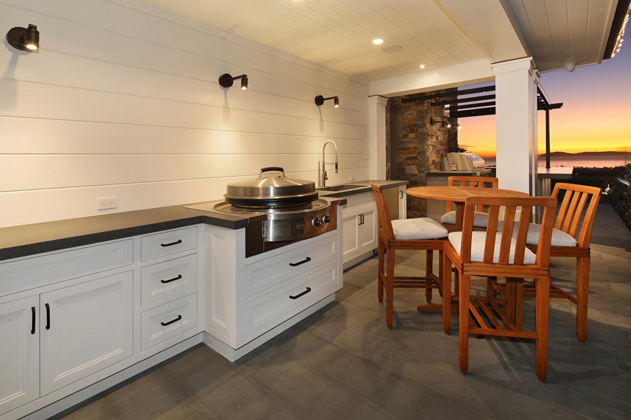 Обои для рабочего стола кухни Интерьер Стулья Дизайн Кухня стул дизайна