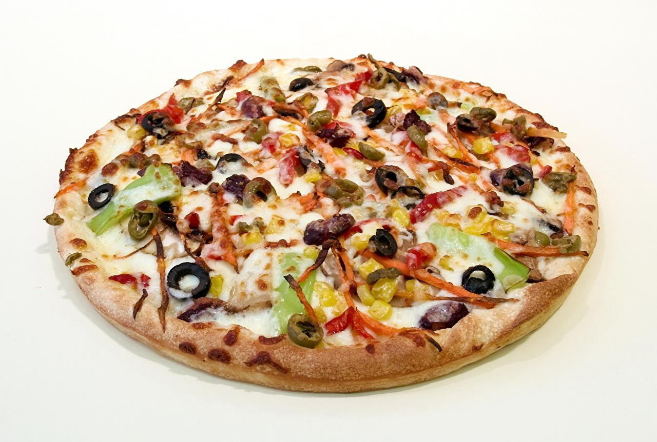 Фото Еда Пицца Оливки Пища Продукты питания